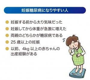 妊娠糖尿病になりやすい人